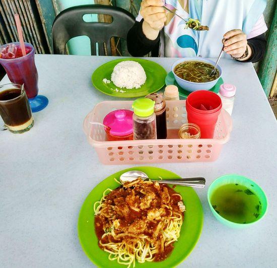 Food And Drink Ready-to-eat Tea - Hot Drink Rojakmee Soup Daging Hot Tea Air Bandung Sunday Morning Gerai Jawa Jalan-jalan Cari Makan Friend!❤ Sabah Borneo