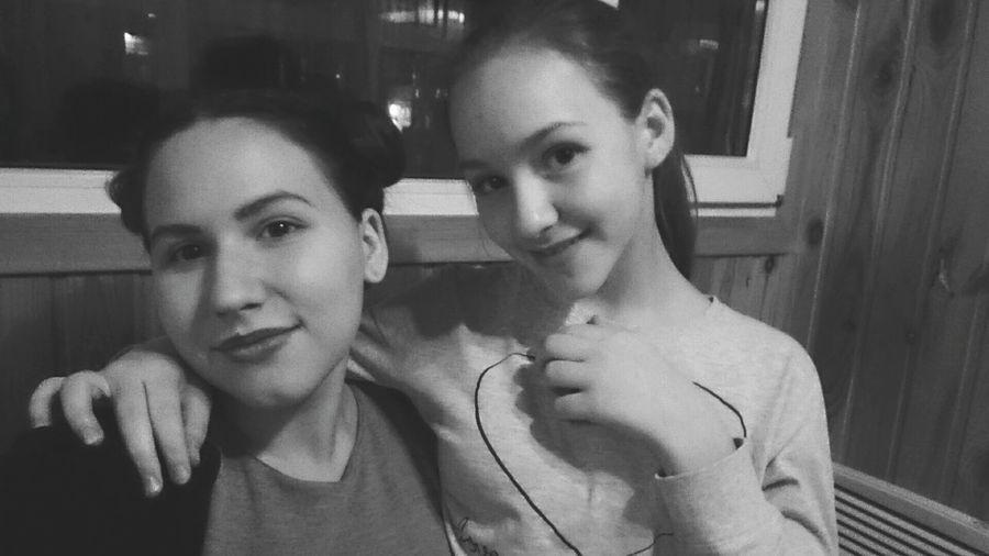 Систрлюбимая 😍😎💑👰🏼☀️ Selfie Two People First Eyeem Photo