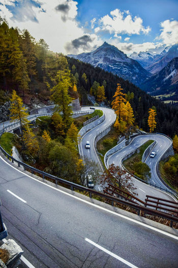 Road to go home (Maloja in the alps) Nikon D3300 Switzerland HASHTAG Light And Shadow Alps Pass Mountain Road Traveling Home For The Holidays First Eyeem Photo Hopeyoulikeit Tree Trees And Sky InSwissGermanWeCallThemLärche Finding New Frontiers Best EyeEm Shot Bestoftheday From My Point Of View Swag Autumn Sun Mysterious Fresh On Eyeem  EyeEmNewHere Miles Away The Great Outdoors - 2017 EyeEm Awards Lost In The Landscape