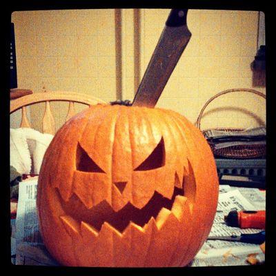 Pumpkin Carving Scary Halloween