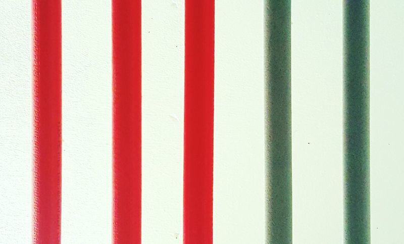 Design Background Wall Gray Tubes Red White Pattern Simplicity Pipes Human Meets Technology