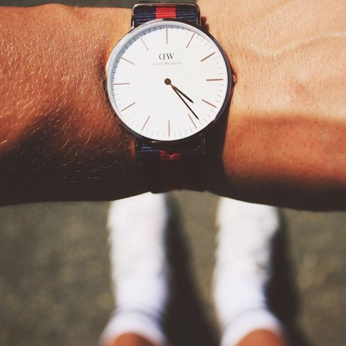 Danielwellington Danielwellingtonwatches Adidas Superstar Summer First Eyeem Photo Man Watch Menwatch Clock Fashion Pattern Pieces Followme