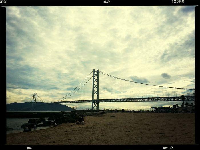 ビーチのラストチャンス( ☆∀☆) 兵庫 舞子 Beach Japan