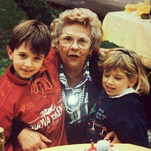 Tre amori della mia vita. Mia sorella. Mia nonna. La Roma.