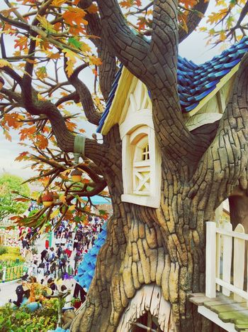 Disneyland Dreamland Chip'ndale Cute House