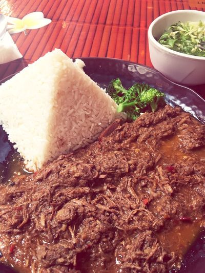 World Curry Bali Beef Pacific Beach Yummy♡ Meal