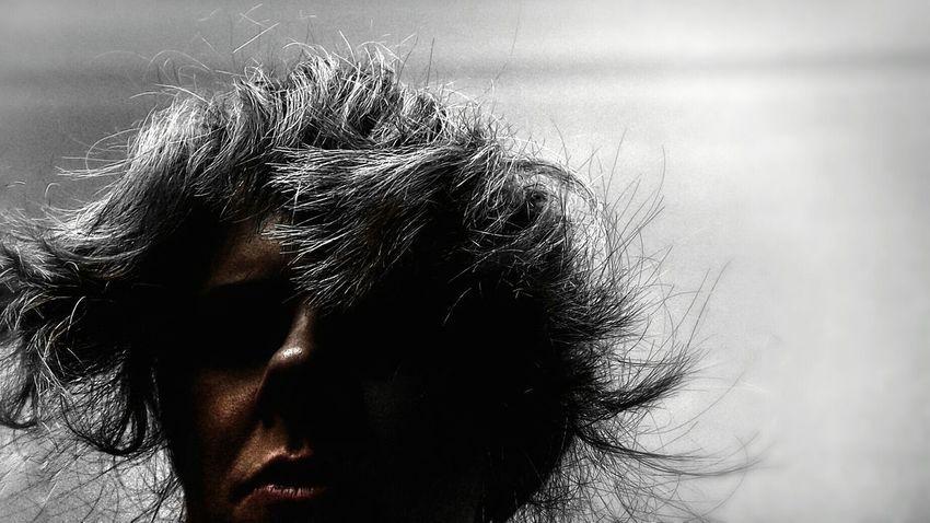 Portrait Incognito Portrait Of A Woman ShaggyHair Colorsplash Art Portrait  Negative Space Who Emotive Strong Impression Identity Who Am I....? Q for Quaint  Question Let Your Hair Down Uniqueness