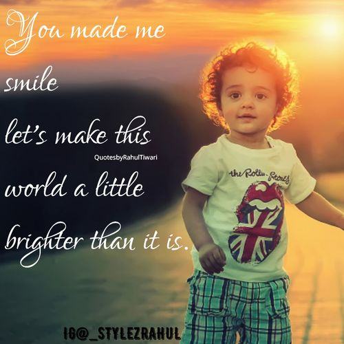 You.. Yes You.. You made me smile let's make the world brighter.. Cheerful Quote Quoteoftheday Myquote Writing Poem Blogger Insta Instaquote