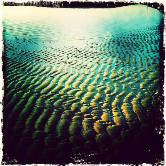 Sand Beach Waves Sea