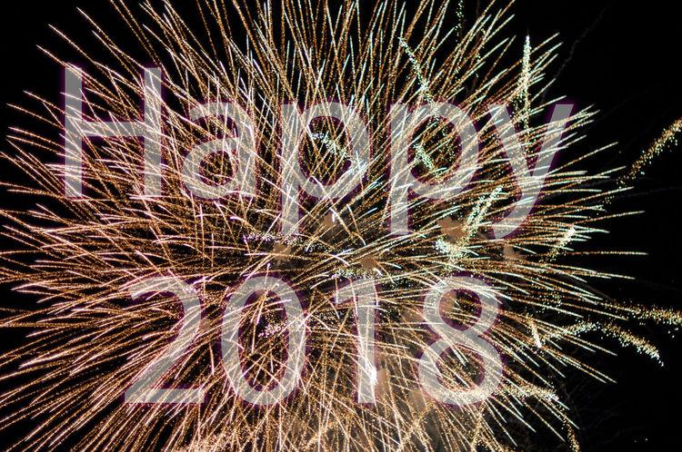 2018 Firework Firework Display Fireworks Happy 2018 New Year New Year's Eve New Year's Eve Fireworks