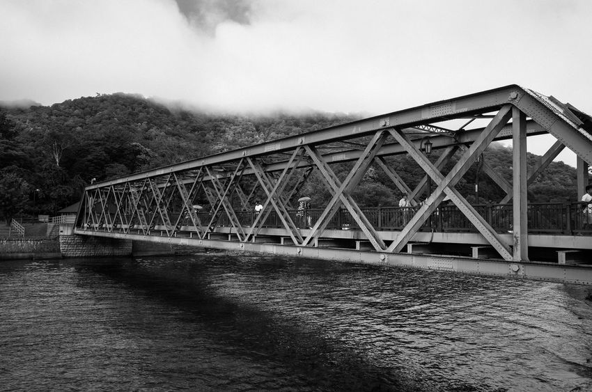 Built Structure Architecture Bridge Connection Water Bridge - Man Made Structure Nature No People Day River Cloud - Sky