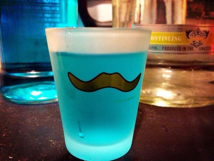 RIP My Cute Mustache Shot Glass