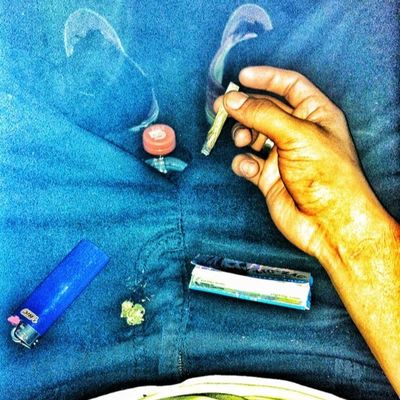 Fucking late session with the homie Faded Highlife Joints Gseries vansganjamarijuanaistayhighistayblownistaystone420