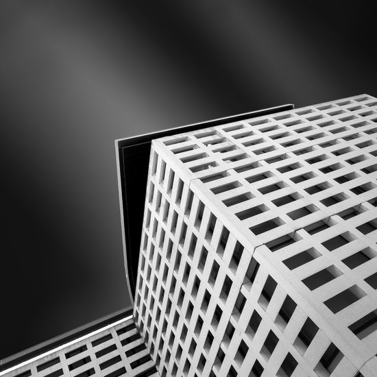 Architectural Feature Architecture Building Built Structure Geometric Shape Low Angle View Modern No People Office Building Outdoors Repetition Tall - High The Architect - 20I6 EyeEm Awards