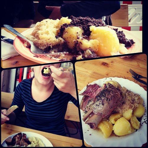 Immer wieder #samstag #fleisch #yummie #domke #friedrichshain #totetiere #eisbein #toteoma
