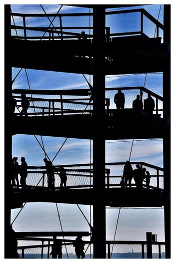 """""""Etagenwohnung"""" 🏢💫✨ Sunset Silhouettes Architecture Built Structure Silhouette Group Of People Sky Day A New Beginning Window Nature City Glass - Material Real People Outdoors Transportation Building Exterior Group Low Angle View Full Frame Building"""