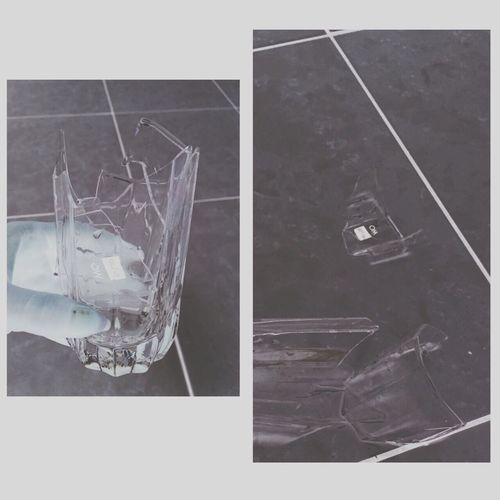 是否是個預兆/ 又或者是代替了將來要發生壞事 Glass Broken Life Things Happen