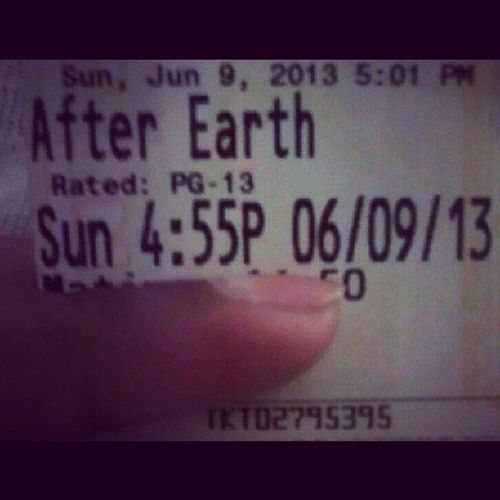 Pretty decent movie Afterearth MOVIE