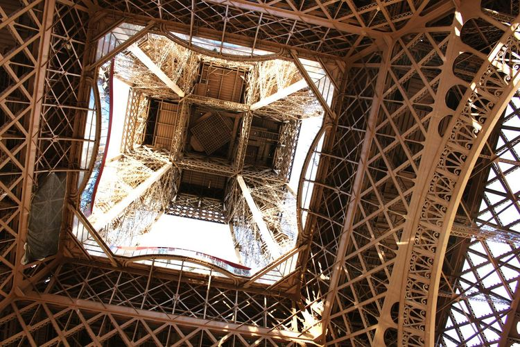 La Tour Eiffel, from a different perspective.. Paris Eiffeltower First Eyeem Photo Your Ticket To Europe Your Ticket To Europe