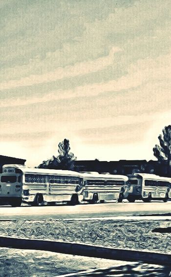 Morning Rituals School Busses School Flow Object Photography Land Vehicle Black And White Collection  NoPeopleAround Enjoying Life Beautiful Day In The Neighborhood... Whatthebus?