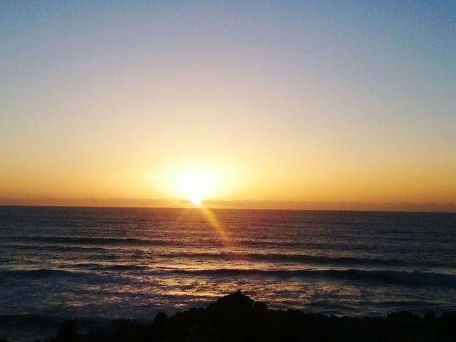 Sunset Sea Horizon Over Water Beach Water Scenics Sun Sky Nature Beauty In Nature