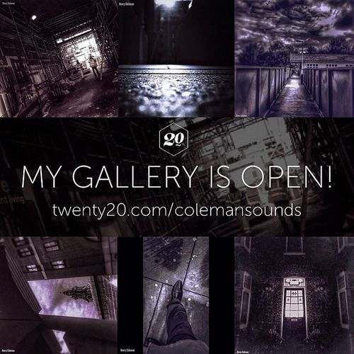 I just opened a gallery on Twenty20! My work is now available on canvas, framed prints, iPhone cases and more! http://twenty20.com/colemansounds Twenty20app Galleryopening