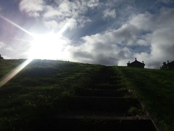 Chatelherault Country Park Scotland sunbeam Tranquil Scene Landscape Sky Sunlight Tranquility Rural Scene Sun Scenics Lens Flare Hill Vacations Agriculture Nature Solitude Field Non-urban Scene Beauty In Nature Farm Cloud - Sky EyeEm Best Shots