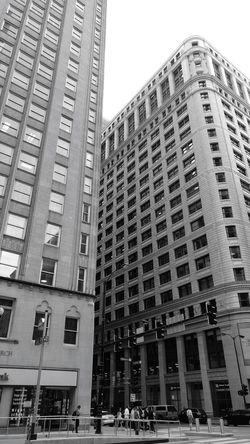 City Skyscraper City Life Architecture Sky Building Exterior Built Structure Office Building