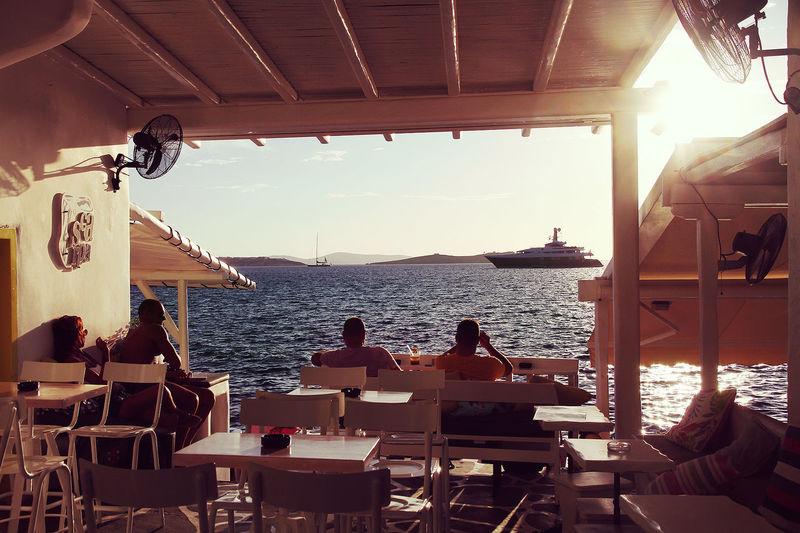 Boat Culture Lifestyles Men Mood Nautical Vessel Restaraunt Sea Sunshine Travel Traveling Water