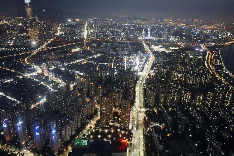 A6000 City Cityscape Korea Night Nightphotography Seoul Sigma19mmArt Skyscraper The Architect - 2017 EyeEm Awards