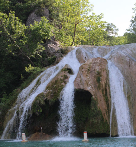 Turner Falls, Oklahoma Beauty In Nature Day Falling Water Flowing Flowing Water Long Exposure Motion Nature No People Outdoors Power In Nature River Rock Running Water Scenics - Nature Water Waterfall