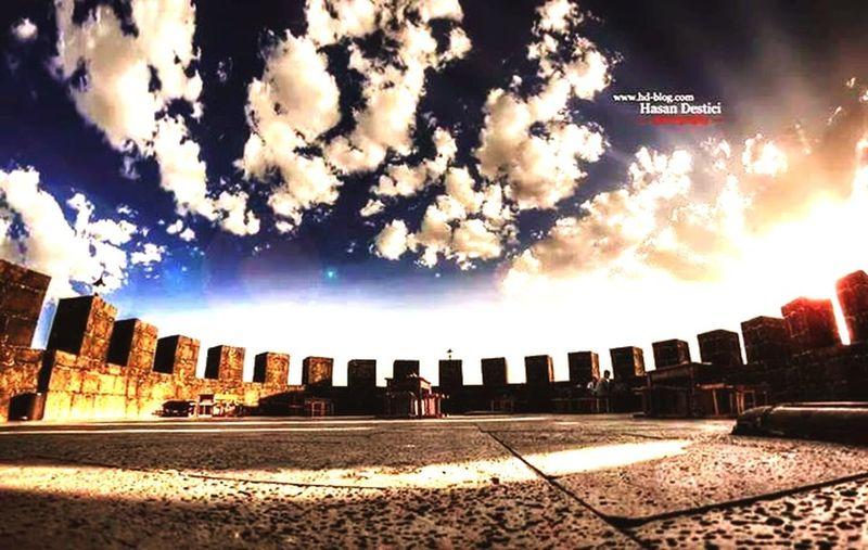 Diyarbakir surlarindan muthis bir goruntu