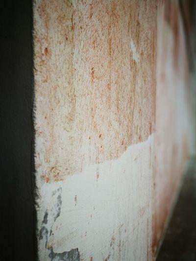 Close-up of rusty wall