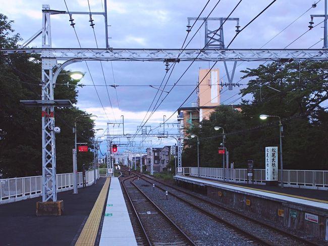 The Journey Is The Destination Japan Photography Hankyu Vanishing Point