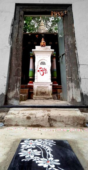 Entrance History Religion No People Spirituality Temple In Nagpur India