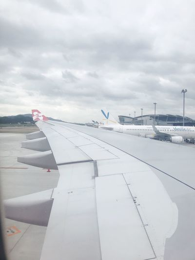 行ってきます Airplane