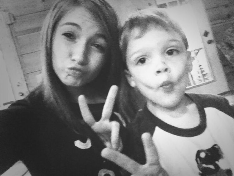 my best friends baby brother asked me out <3 needless to say, i told him yes (; Love 4 Year Old Himm <3