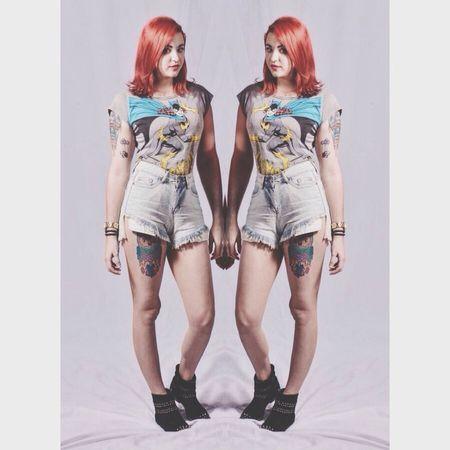 Batgirl Tattoos Girl Redhead