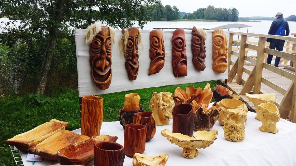 Handmade Handcraft Wooden Wooden Sculpure EyeEm Selects EyeEmNewHere Food No People Day Outdoors Freshness