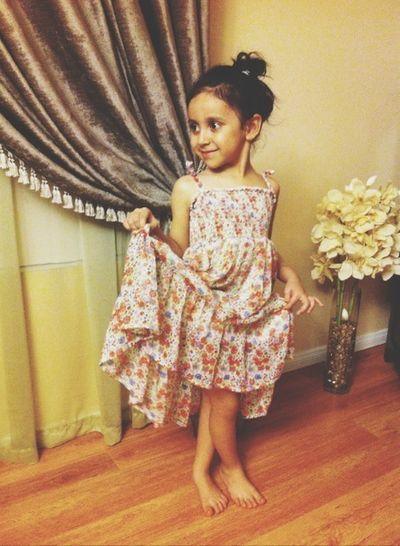 Cute Dress Fashion&love&beauty Stand Like A Model  Cute :)
