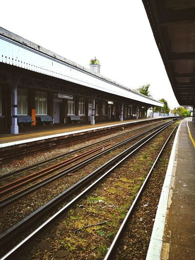 Railroad Track Rail Transportation Railroad Station Train - Vehicle Public Transportation Travel Railroad Station Platform Transportation No People Arrival Outdoors Travel Destinations Day Architecture Victorian Station Broadstairs Kent England