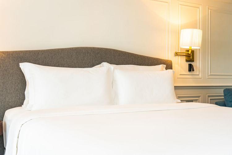 Bed at hotel