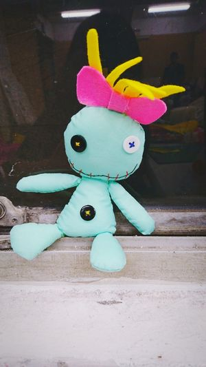 史迪奇的莉蘿娃娃 Toy Childhood Lilo Stitch Handmade