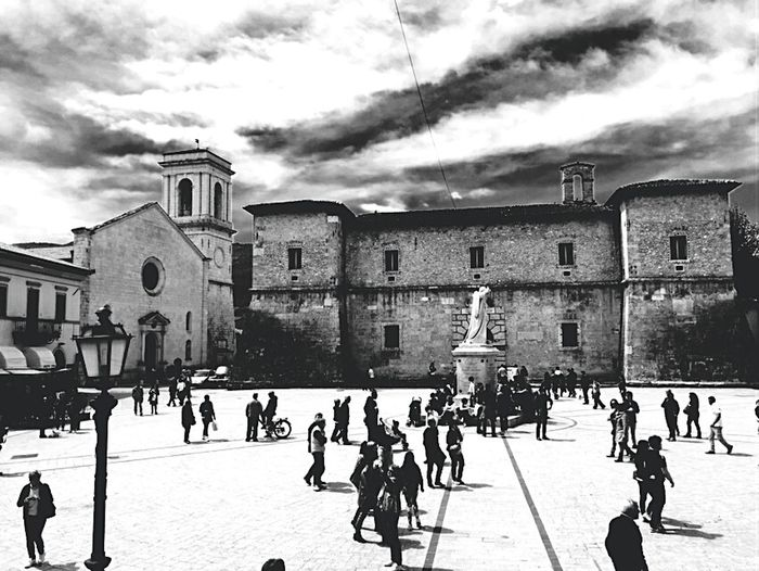Outdoors Travel Destinations Architecture Day People Places To Visit Sky Umbria, Italy Norcia