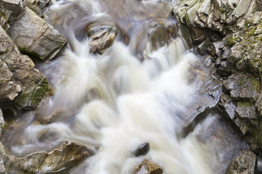 EyeEm Selects Waterfall Nature River No People Water Rock - Object Motion Scenics Beauty In Nature Outdoors Rapid DayAfternoon Long Exposure Scotland