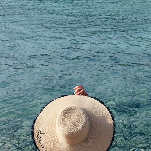 Beach Life Beach Photography Dear Summer Hat VSCO VSCO Cam Beach Beachphotography Close-up Day Girl Girl With Hat Girlfriend Hat High Angle View Nature One Person Outdoors People Sea Lost In The Landscape Tranquility Vscocam Vscogood Water EyeEmNewHere