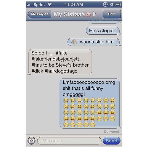yooo fake friends lol.