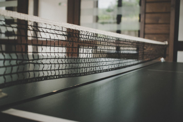 Close-up Court Day Focus On Foreground Indoors  Net Net - Sports Equipment No People Sport Table Tennis Tennis Tennis Net