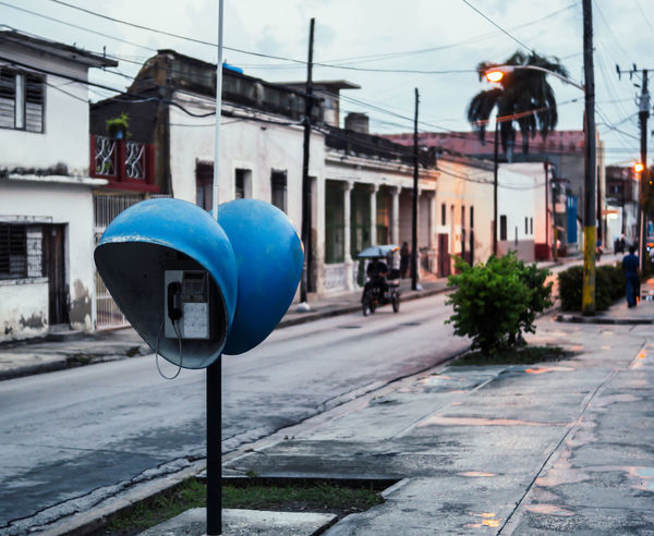 Telephone booths in Cuba Cuba Cuba Collection Driving Holguin, Cuba Hot Retro Tourist Trip Wired Architecture Caribbean City Communication Dial Dome Etecsa Iconic Buildings Las Tunas Old Phone Road Sign Roadway Roman Style Telephone Booth Tourism EyeEmNewHere EyeEmNewHere