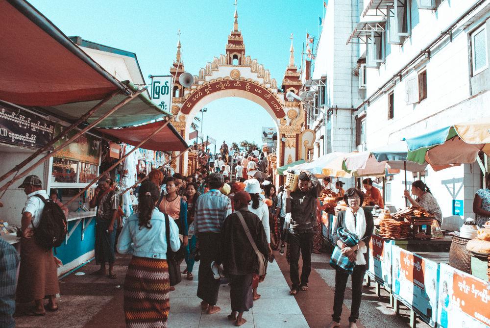 Delicious Gentle Golden Rock Market Myanmar Outdoors People Real People Simplicity Street Food Street Market EyeEmNewHere